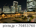 東京の名所 東京駅前広場の景色 70853760