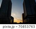 東京の名所 東京駅前広場の景色 70853763