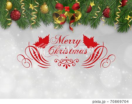 クリスマスデコレーション 70869704