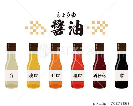 熟成期間の違う醤油のセット 70875863