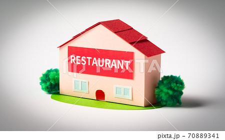 レストラン restaurant 店舗 外食 飲食店 70889341