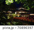 【群馬県】四万温泉の夜景 70896397