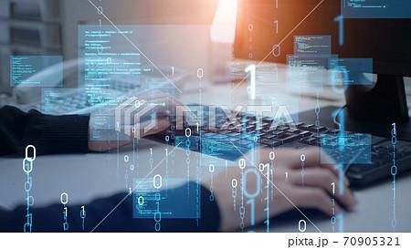 プログラミング デジタルトランスフォーメーション  70905321