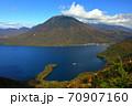 絶景 奥日光半月山展望台からの眺望 70907160