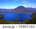 絶景 奥日光半月山展望台からの眺望 70907161