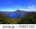 絶景 奥日光半月山展望台からの眺望 70907162
