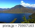 絶景 奥日光半月山展望台からの眺望 70907163