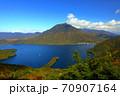 絶景 奥日光半月山展望台からの眺望 70907164