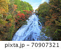 奥日光三名瀑 絶景 湯滝観爆台からの紅葉 70907321
