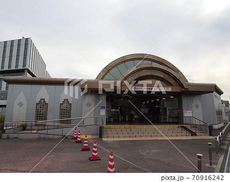 【東京モノレール】羽田線天空橋駅 駅舎 70916242