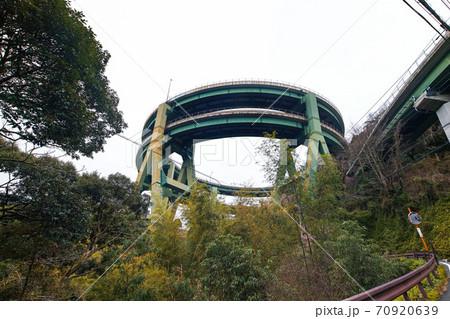 静岡県・伊豆/ 河津七滝ループ橋(河津高架橋) 70920639
