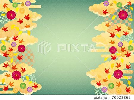 背景素材-秋和風11テク 70923865