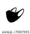 face mask icon 70927933