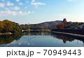 秋の岡山城 70949443