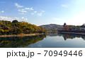 秋の岡山城 70949446