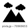 山と雲 70969653