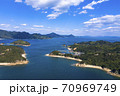 笠岡諸島 高島の空撮風景 70969749