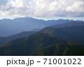 奥多摩の秋の山並み/秩父多摩甲斐国立公園(東京都) 71001022