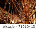 東京丸の内の年末年始の光景 71010413