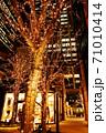 大都心の夜を照らす光の装飾 71010414