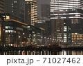 [夜景]東京・丸の内のビル群 71027462