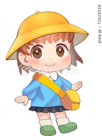 かわいい幼稚園生のイラスト 71029339