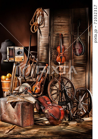 Still Life With Musical Instruments 71032317