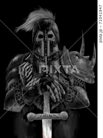 黒い鎧の騎士 71041947