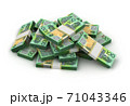 Stack of Australian Dollar 71043346
