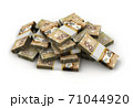 Stack of Canadian Dollar 71044920