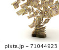 Flying Canadian Dollar 71044923