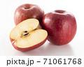 カットした林檎 71061768