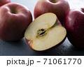 カットした林檎 71061770
