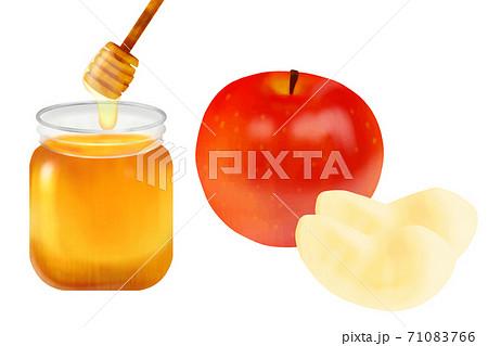 蜂蜜 りんご 71083766