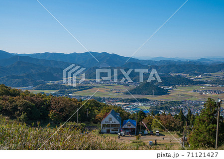 伊吹山の1合目〜2合目からの景色 71121427