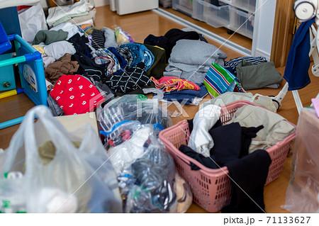 ゴミ部屋 衣替え 71133627