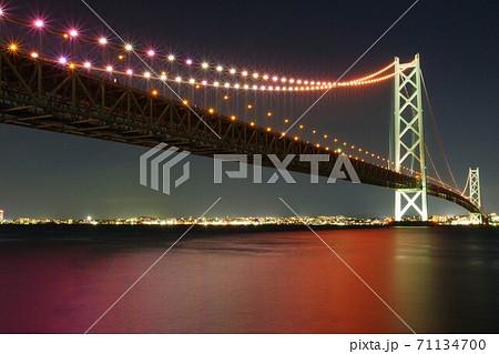 明石海峡大橋(道の駅あわじからの眺め) 71134700