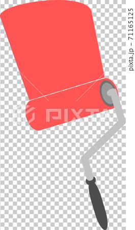 DIY工具油漆滾筒紅色 71165125