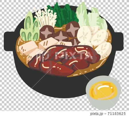 美味壽喜燒的插圖 71183625