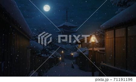 雪化粧_雪あり 71191196