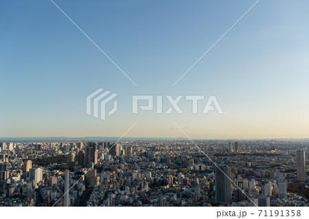 渋谷スクランブルスクエア展望台からの展望 東京湾方面 71191358