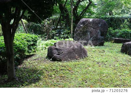 庭園の岩石 71203276