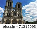 パリのノートルダム大聖堂 71219093