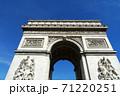 パリの凱旋門 71220251