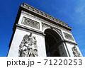 パリの凱旋門 71220253