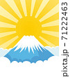 富士山 ご来光 71222463