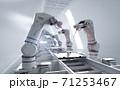Robot assemble line 71253467