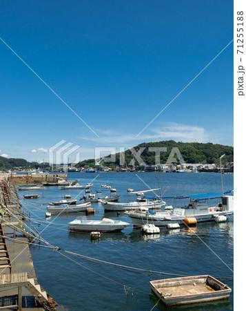 【広島県】尾道の海岸の風景 しまなみ海道の新尾道大橋方面を望む 71255188