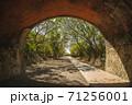 facade from Qiding Twin Tunnels in miaoli county, taiwan 71256001