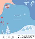 背景 クリスマス カード 71283357